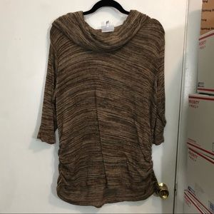 Fashion Bug Cowl Neck Sweater